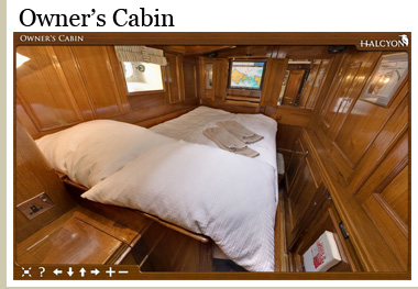 Click now to view the Owner's Cabin