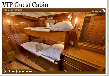 Click now to view the VIP Guest Cabin